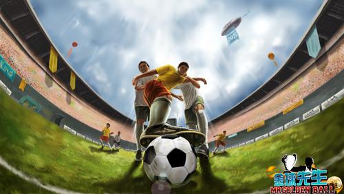 网页版实况要玩《金球先生》指尖上的足球